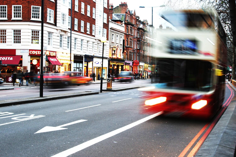 Cámara lenta. Londres